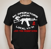 AK Operators Union Join the Resistance T-Shirt
