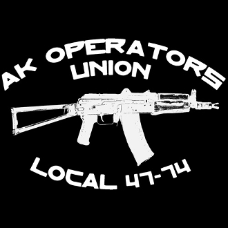 AK Operators Union Sticker - Classic Design