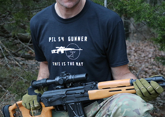 PSL 54 Gunner This is The Way T-Shirt
